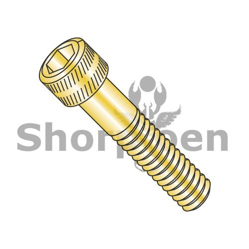 MS16997, Military Socket Head Cap Screw Cadmium Yellow DFAR 3/8-16 x 1 BC-MS16997-99 (Box of 50) Weight 2.15 Lbs