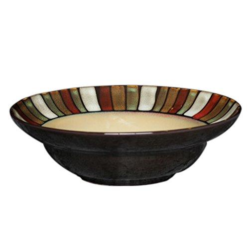 Lyh Ceramic Tableware Japanese Style Dish Creative Kiln Glaze Western Bowl Underglaze Bowl