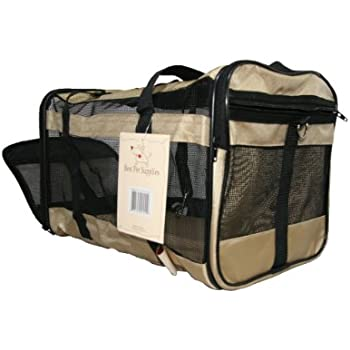 Amazon Com Airline Compliant Pet Carrier For Small Dogs