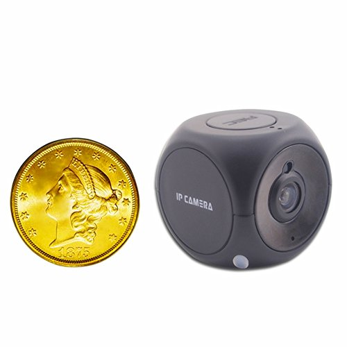 CamRom 720P Smallest WIFI-IP Security Camera with H.264 IR Night Vision SP8731
