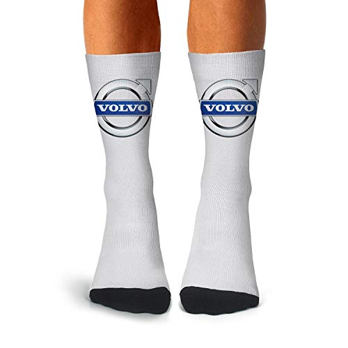 (Mens White Cool Athletic Crew Multicolor Tube Long Compression Socks Winter Wear)