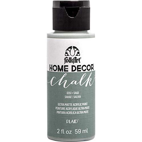 (FolkArt 36331 Chalk Finish Paint, 2 ounce, Sage)