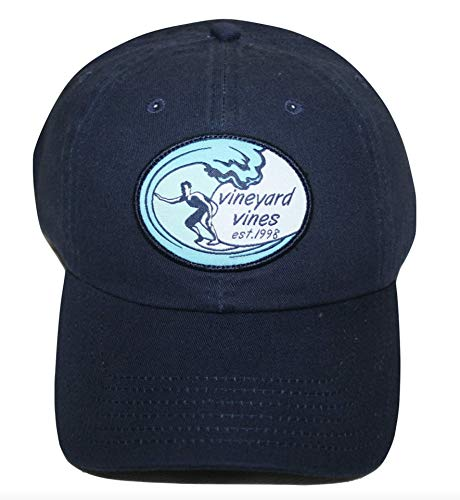 Vineyard Vines Men's Classic LP Decon Surfs Up Patch Hat Blue Blazer Cap (Vineyard Vines Men Hats)