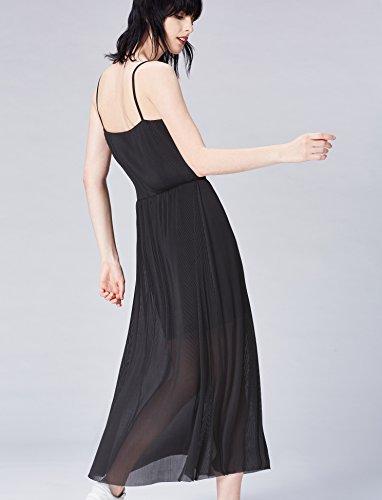 Robe Multicolore Femme Longue Black FIND XU7xX