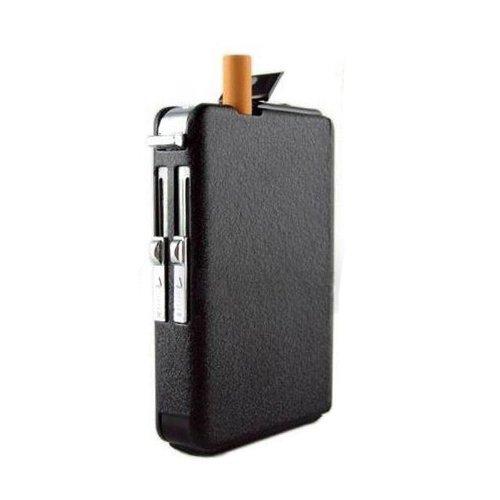 OFTEN Automatic Ejection Butane Cigarette Lighter Case Box Holder Windproof Dispenser (Automatic Cigarette Dispenser compare prices)