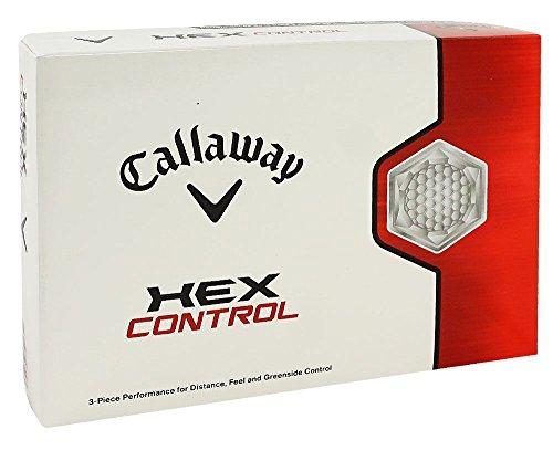 Callaway Hex Control 3-pc Golf Balls 1 Dz