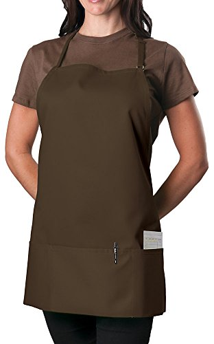 KNG Coffee Adjustable Bib Apron - 3 Pocket