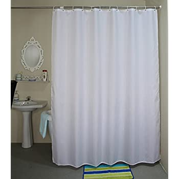 Shower Curtain Extra Long 72 X 78 Inch, Welwo X Long Shower Curtain,