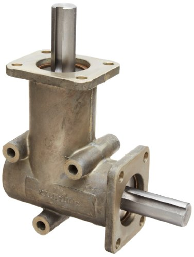Right Gearbox - Andantex R3200 Anglgear Right Angle Bevel Gear Drive, Universal Mounting, Single Output Shaft, 2 Flanges, Inch, 5/8