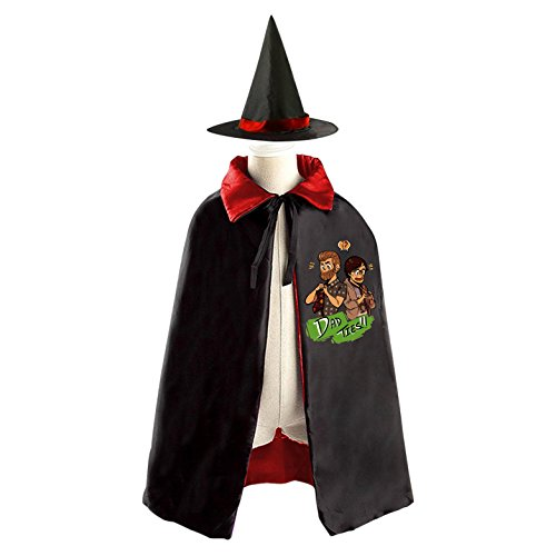 Cartoon Rhett & LInk Kids Halloween Party Costume Cloak Wizard Witch Cape With (Most Epic Halloween Costumes)