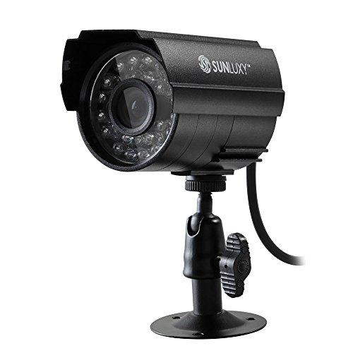 """SUNLUXY 1/3"""" 700TVL CCTV 3.6mm IR-CUT Security Kamera Überwachungskamera"""