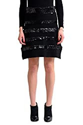 Knitted Sequin A-Line Skirt