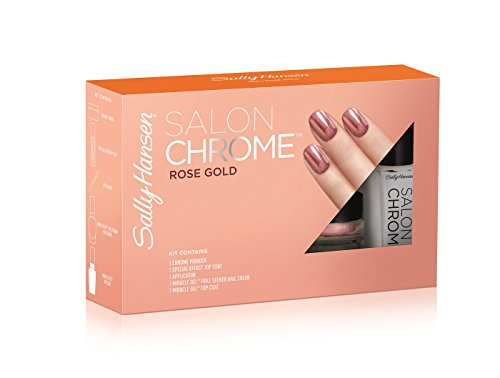 Sally Hansen Salon Chrome Large Kit, Rose Gold