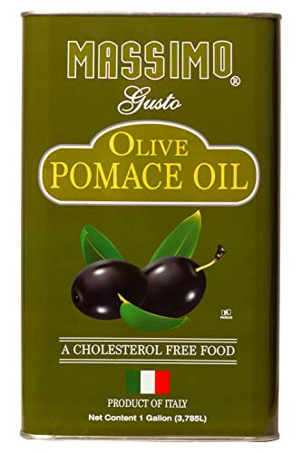 Massimo Gusto Pomace Olive Oil - 1 Gallon (Olive Oil Soap Making)