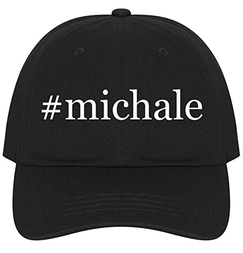 The Town Butler #Michale - A Nice Comfortable Adjustable Hashtag Dad Hat Cap, Black