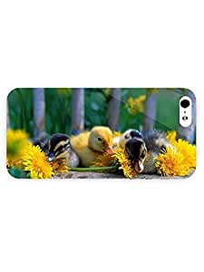 3d Full Wrap Case for iPhone 5/5s Animal Ducklings54