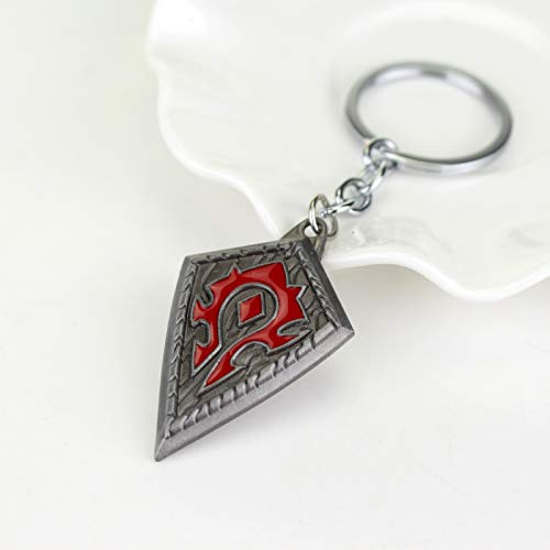 World of Warcraft Inspired – Horde Banner Key-chain (Silver)