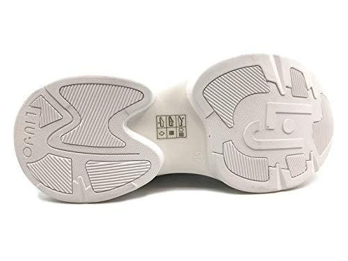 White Jog 06 Sneaker Pelle Jo In Bianca Liu Donna A8PTEn