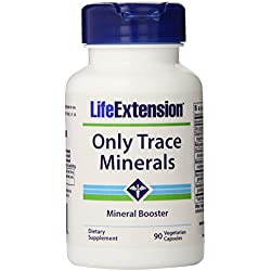 Life Extension Only Trace Minerals, 90 vegetarian capsules
