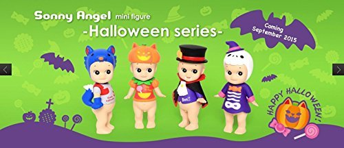 [Sonny Angel Mini Figure 2015 Halloween Series (1 Assorted) - Limited Edition] (Animals Dressed Up In Halloween Costumes)