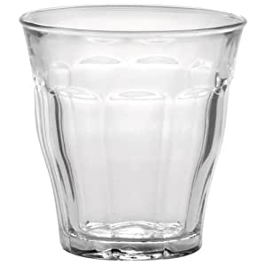 Duralex Made In France Picardie 4.5 Ounce Clear Tumbler, Set of 6