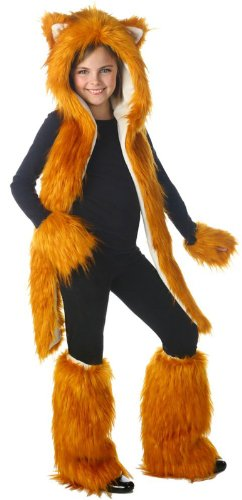 Flynn the Fox Set Tween Costume - Preteen/Tween (Fox Costume For Teens)
