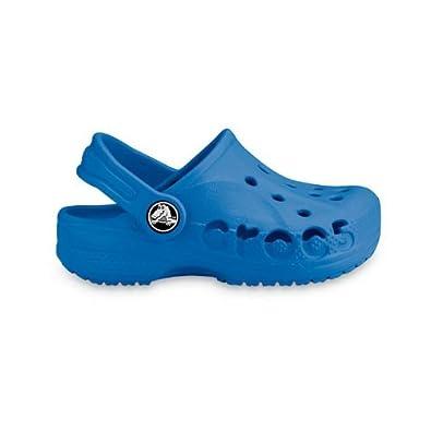 Crocs Schuhe Baya für Kinder und Jugend. Rutschfest. sicherer Halt. Sea Blue.
