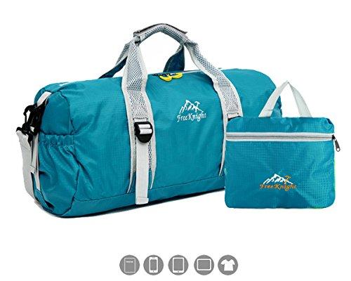 FREEMASTER 30L Sporttaschen Damen Herren Kinder Weekender Tasche Reisetaschen Unsex 49*25*24 (Blau)