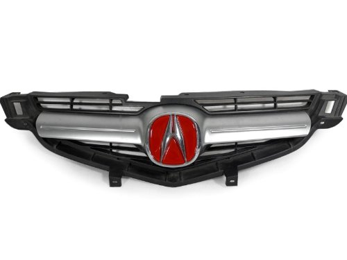 Amazoncom ACURA TL RED EMBLEM BADGE DECAL INSERT FILLER For - Red acura emblem