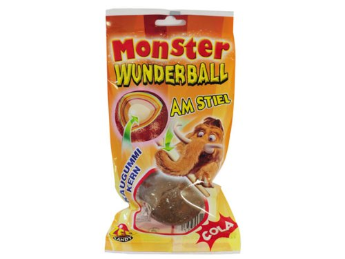 ZED Candy mammoth Monster Ball miracle Cola lollies 15 Pieces
