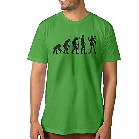 PTCYM Overwatch Game Personalized Men's Tshirts 3X KellyGreen (Attack In Titan Dvd)