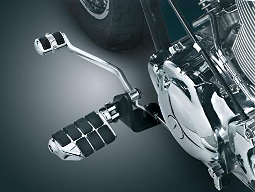 Cover Shift Chrome Kuryakyn Peg - Kuryakyn 4034 Motorcycle Foot Control: Shift Peg Cover for 1998-2017 Yamaha V Star Motorcycles, Chrome, Pack of 1