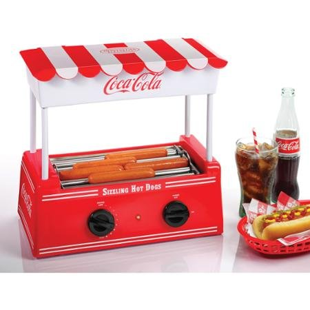 Nostalgia Electrics Coca Cola Series Old Fashioned Hot Dog Roller  Hdr565coke By Blossomz
