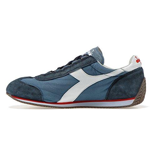 Diadora Heritage - Sneakers Equipe Stone Wash 12 Per Uomo E Donna Blu