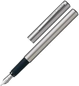 قلم ريشة بورش ديزاين لون فضي