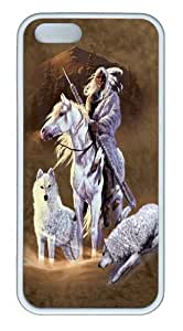 Companions of the Hunt TPU Silicone Case Cover for iPhone 5/5S White by icecream design