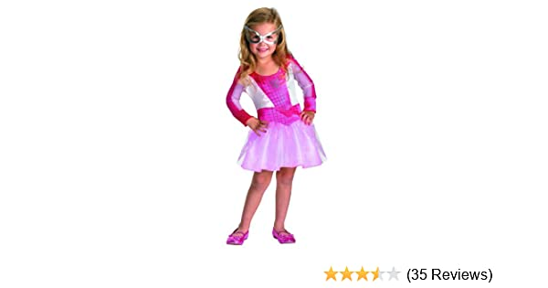 d62db8e3044 Amazon.com: Pink Suited Spidergirl - Size: Child L(10-12): Clothing