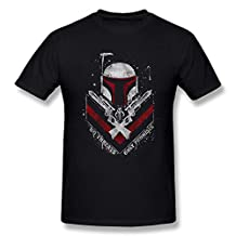 Jahei Custom Star Wars Boba Fett No Threats Man T-Shirt Black S