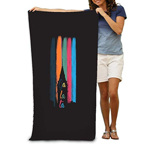 - Xunulyn 31x51 Inch High Absorbency Bath Towel Large Bath Sheet for Beach Home Spa Pool Gym Travel galata Tower Vintage Typography eps galata Tower v
