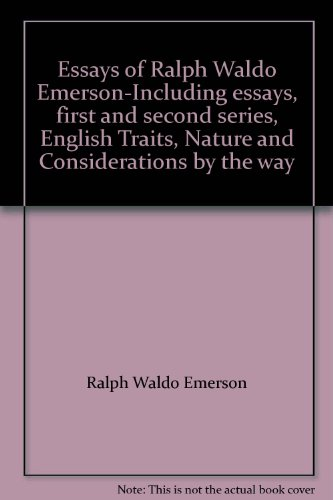 critical essays on ralph waldo emerson Essays and criticism on ralph waldo emerson - critical essays.