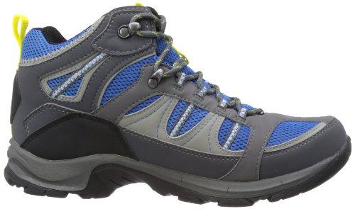 Hi-Tec Bryce WP - Botas de senderismo de sintético hombre azul - Charcoal/Royal Blue/Limoncello