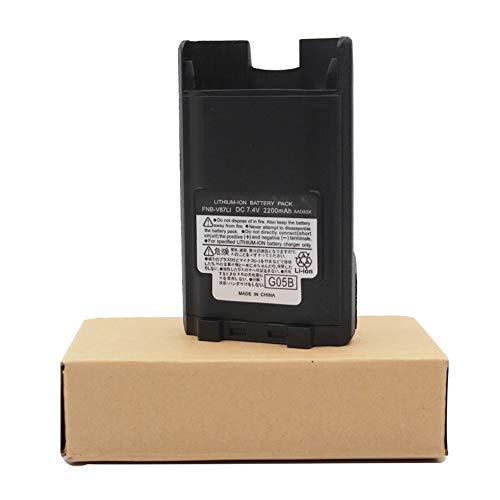 FNB-V87LI Battery Replacement for Vertex Standard VX820 VX920 VX-P820 VX-P821 VX-P824 VX-P829 2200mAh