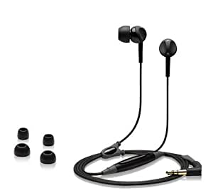 Sennheiser CX 250 - Auriculares (Binaurale, Negro, Dentro de oído, Alámbrico, 1,19m, Intraaural)