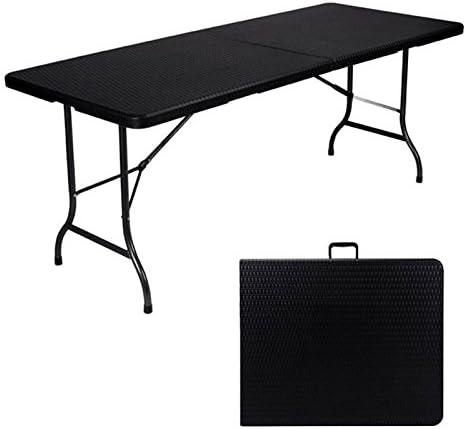 Toolland Table D Appoint Pliante Interieur Exterieur Facon Rotin