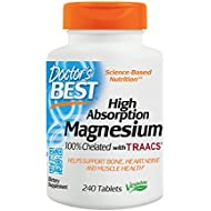 Doctor's Best High Absorption Magnesium Dietary Supplement...