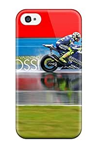 Premium Iphone 4/4s Case - Protective Skin - High Quality For Valentino Rossi Motogp Racer