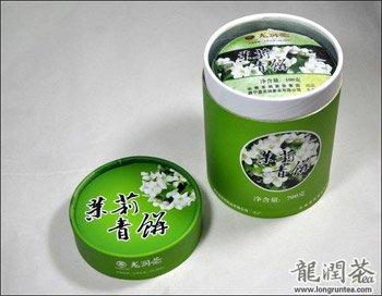 Yunnan LongrunPu-erh Tea Cake -Jasmine Gift Set (100g x 7,Unfermented, Year 2013)