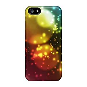 phone covers Design Colorful Bubbles Hard Case Cover For iphone 4 4s