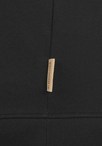 charcoal Indicode Elliot Black Homme Pull Capuche À YaqFCwY