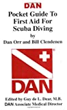 img - for DAN Pocket Guide to First Aid for Scuba Diving book / textbook / text book